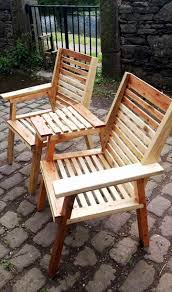 Patio Furniture Made From Wood Pallets by Upcycled Pallet Chair Bench