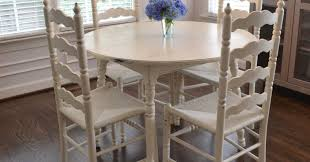 shabby chic dining table pictures