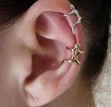 where to buy cartilage earrings silver gold climbing climber ear cuff helix cartilage