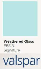 pantone aqua glass from valspar paint color i like pinterest