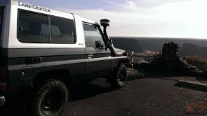 safari land cruiser bj74 land cruiser diesel with emu lift safari snorkel goodyear