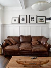 stylish leather apartment sofa best ideas about distressed leather