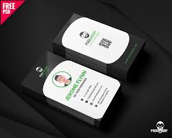 download corporate business card free psd psddaddy com