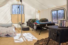 wall tent my canvas wall tent is my cozy place for cold weather cing