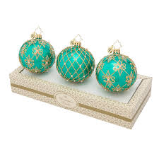 tree ornaments turquoise bead ornaments