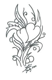 heart flower by kimie94 on deviantart
