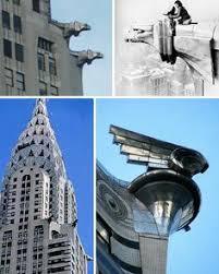 chrysler building 1930 new york city eagle headed gargoyles