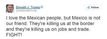 Trump Kumbaya Hispanic Culture In Trump U0027s America U2013 Sammy Constantinou