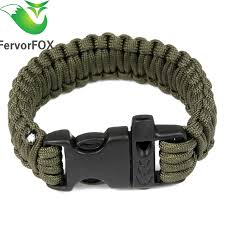 survival bracelet with whistle buckle images 1pc outdoor camping paracord parachute cord emergency survival jpg