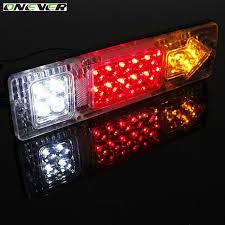 led tail lights for a trailer 2pcs 24v waterproof 19 atv trailer truck led tail light l car