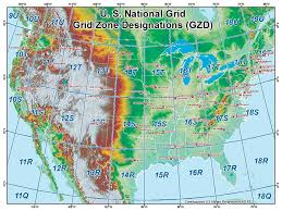 Image Of United States Map by United States National Grid U2013 Wildfire Today