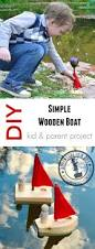 diy simple wooden toy boat woodworking for kids adventure in a box