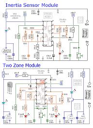 a modular burglar alarm circuit circuit diagram world