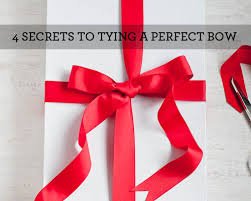 christmas bows for presents living well 4 secrets to tying a bow design