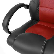 pc gaming desk chair executive racing gaming office chair pu leather swivel computer