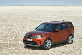 tan land rover land rover reveals new discovery