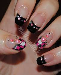 139 best hello kitty nails images on pinterest hello kitty nails
