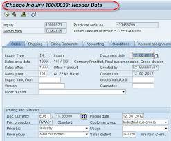 Sap Material Master Tables by Sap Sales Document Tutorial Va01 Va02 Va03