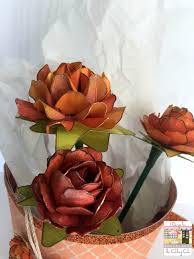 cards by regina 3d cup with paper flowers