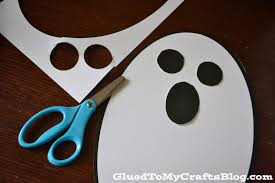 Halloween Ghost Crafts For Kids by Ghost Kid Craft