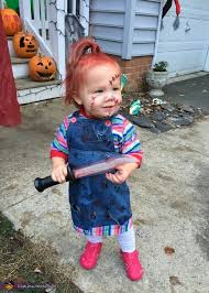 Chucky Halloween Costume Kids Chucky Baby Halloween Costume