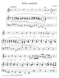 partition ipad selve amiche piano et chant voix moyenne de