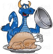 blue turkey clipart 13