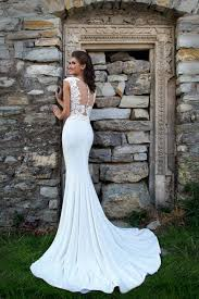 wedding dress raisa wedding dress raisa mermaid shape stretch fabric and lace