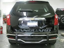 nissan armada brush guard rear bumper guard double tube s s auto beauty vanguard