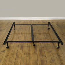 King Size Metal Bed Frames 7 Inch Adjustable Size King Low Profile Metal Bed