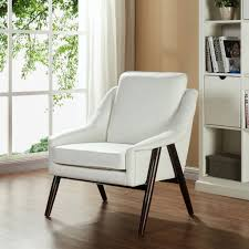 Ivory Accent Chair Mid Century Modern Styling Ivory Accent Chair Brandon U2013 Ideal