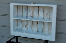 Reclaimed Wood Shelf Diy by Diy Reclaimed Window And Pallet Wood Shelf Pallet Furniture Diy