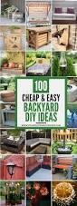 Cheap Easy Backyard Landscaping Ideas 100 Cheap And Easy Diy Backyard Ideas Diy Backyard Ideas Backyard