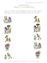 family worksheets for kids all kids network