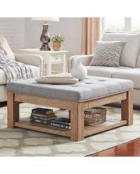 Tufted Coffee Table 30 Homevance Tufted Upholstered Storage Coffee