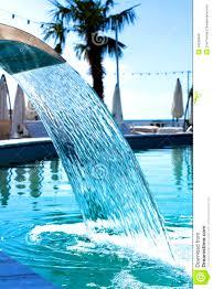 furniture fetching small grotto pool waterfall swimming rock