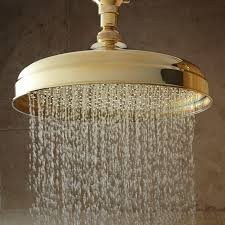 Brass Shower Faucets Polished Brass Shower Faucet Set