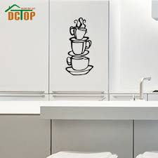 aliexpress com buy dctop coffee house cup wall decals vinyl