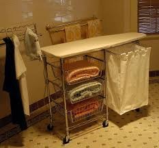 Folding Table On Wheels However For Those Of You Who Like Me Have A Laundry Room That
