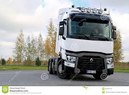 renault trucks t white renault trucks t480 tractor editorial image image 45422170