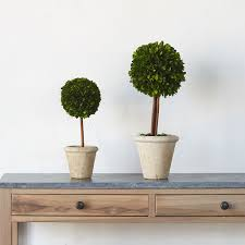 Mantel Topiaries - faux plants yes or naux
