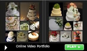 wedding cake flowers decorating a wedding cake with fresh flowers
