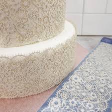 wedding cake lace edible cake lace