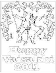 rakhi coloring pages baisakhi coloring pages vaisakhi festival family holiday net