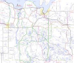 Michigan Maps Atv Orv Ohv Utv Routes Alger County Munising Autrain Michigan