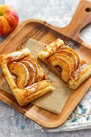 apple cinnamon puff pastry tart
