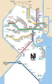 Garden State Plaza Map by New Jersey Transit