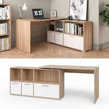 rehausse bureau rehausse bureau bureau bureau d angle sonoma oak white achat