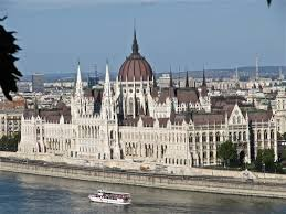 Gothic Revival House Hungarian House Of Parliament Budapest 1885 1904 Imre Steindl