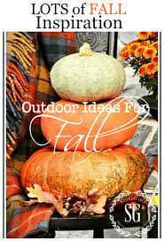 Fall Outdoor Decorations by Outdoor Ideas For Fall Decorating Stonegable